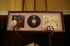 EVERLAST - AUTOGRAPHED / SIGNED EAT AT WHITEY'S CD DISPLAY PROFESSIONALLY FRAMED