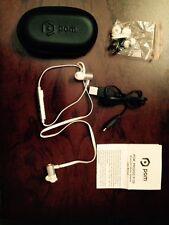 POM Gear Pro2Go Bluetooth 4.0 Sweat-Proof Ear-Hook Sereo Earbud Earphones White