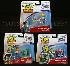 ASTRONAUT BARBIE & KEN Toy Story BUDDY PACKS 6 Figures SPARKS Buzz CAKE TOPPERS