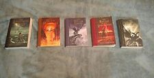 Percy Jackson & the Olympians by Rick Riordan [ALL 5 BOOKS-PAPERBACK]