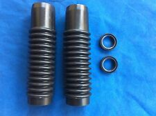 Honda S90 CT90 CT110 CL90 CB125 CL125 NEW FRONT FORK BOOTS Gaiters REBUILD KIT