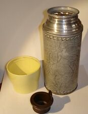 VINTAGE THERMOS VACUUM BOTTLE MODEL 3153--with STOPPER--HAS ONE CUP