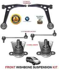 VW SHARAN 2000-2010 2X WISHBONE ARMS 2x LINK BARS 2x BALLJOINT SUSPENSION KIT