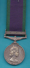 General Service Medal With Northern Ireland Bar