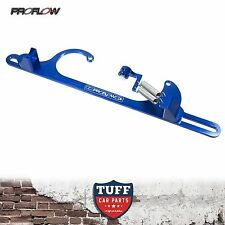 Proflow Blue Billet Throttle Cable Return Spring Bracket suit Holley 4150 Carby