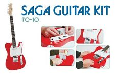 New SAGA TC-10 Build Your Own T-Style Electric Guitar Kit w/ FREE Fender Picks!