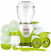 Nuby Baby Garden Fresh Steamer & Blender Food Processor 22 Piece Storage Set
