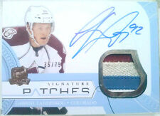 4clrs /75 GABRIEL LANDESKOG THE CUP SIGNATURE PATCHES AUTO 2011 11 12 jersey