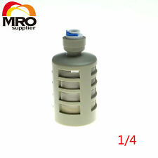 """1/4"""" OD Quick Hose Connection Self-sucking Pump Suction Filter RO Water ST034A"""