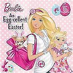 BARBIE An EGG-CELLENT EASTER parade New children's 8x8 picture book + stickers