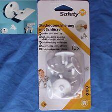 Steckdosen sicherung 12 Stück Steckdosenschutz Kinderschutz Kindersicherung