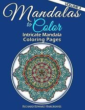 Mandalas to Color - Intricate Mandala Coloring Pages : Advanced Designs...
