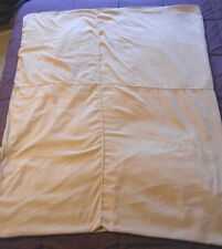 King size duvet cover and shams tan beige micro suede