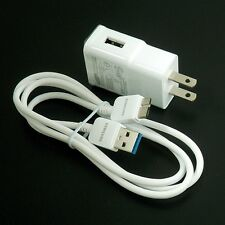 OEM Micro USB 3.0 Data Cable + Wall Charger For Samsung Galaxy S5 i9600 Note 3