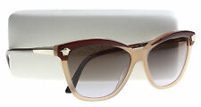 New Versace Sunglasses Women's Butterfly VE 4313 Brown 5178/13 VE4313 57mm
