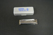 "Harmonica diatonique Hohner ""Spécial 20"" neuf Do / C fiable, facile Easy to play"