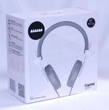 NEW Capital Headphones AIAIAI w/mic Closed DJ sound iphone 6 Apple Samsung earpo