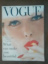 ***VINTAGE VOGUE MAGAZINE May 15th 1956 classic Irving Penn front cover