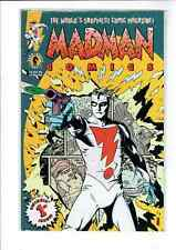 MADMAN COMICS #1 (94') MIKE ALLDRED STORY-ART GREAT FRANK MILLER REAR COVER ART