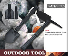 PORTABLE CAMPING HIKING MILITARY GARDENING MINI-FOLDING-SHOVEL-WITH-CASE