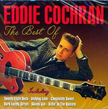 EDDIE COCHRAN - THE BEST OF (NEW SEALED CD)