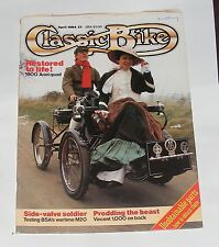 CLASSIC BIKE APRIL 1984 - 500CC BSA M20 WD/1000CC VINCENT SPECIAL