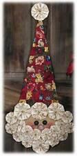 Happy Hollow Designs Vintage Yo Yo Santa Pattern