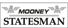A088 Mooney Statesman Airplane banner hangar garage decor Aircraft signs