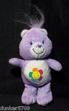 2004 HARMONY CARE BEAR 7 IN PLUSH TUSH TAG CARE BEAR BUTTON
