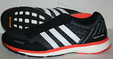 Adidas Boost Adizero Adios BA7934 Men's US 9 UK 8.5 Black/White/Orange
