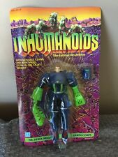 Vintage 1986 Hasbro Inhumanoids Earth Corps DR. DEREK BRIGHT Unpunched !