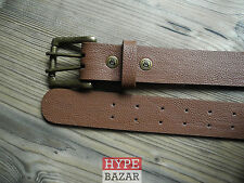 EXPEDITION ONE   LEATHER BELT/GÜRTEL NEU FARBE:BROWN   EXPEDITION ONE KAYO