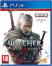 THE WITCHER III 3 WILD HUNT PS4 Game (BRAND NEW SEALED) BONUS CONTENTS MRP STOCK