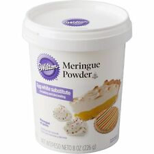 Wilton 8 oz Meringue Powder Mix Royal Icing Cookies or Egg White Replacement NEW