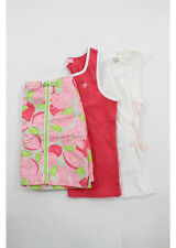 NWT LILLY PULITZER, FLEURISSE Multi Colored Cotton Two Tanks, One Skirt Sz's 12