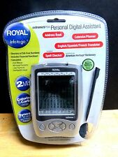 New Extreme 5 PDA. Royal Info To Go. 2MB. Syncs with MS Outlook.