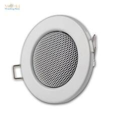 Haut-parleur,Design halogène Blanc,Encastré: 60mm,Haut-parleur encastrable MINI-