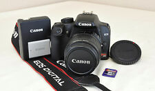 Canon EOS Digital Rebel XS 1000D 10.1 MP Black DSLR Camera Kit w/18-55mm IS Lens