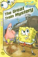 The Great Train Mystery (SpongeBob SquarePants) - LikeNew  - Paperback