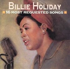 BILLIE HOLIDAY - 16 Most Requested Songs CD / NEW / Body And Soul, Easy Living