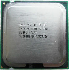 Processore CPU Intel Core 2 Duo E8400  (6M Cache, 3.00 GHz, 1333 MHz FSB)