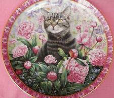 CHRISTIE IN SUMMER LESLEY ANNE IVORY ABYSSINIAN CAT PLATE CATS AROUND THE WORLD