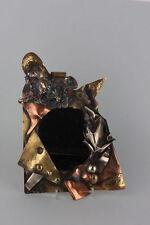 Kleiner signierter Spiegel,  Künstler-Arbeit, signiert Chelo 86