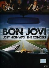 Bon Jovi - Lost Highway: The Concert (DVD) EXCELLENT cond (Regions 2 to 6 NTSC)