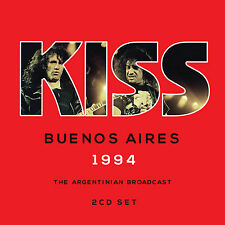 KISS New Sealed 2017 UNRELEASED 1994 BUENOS AIRES LIVE CONCERT 2 CD SET