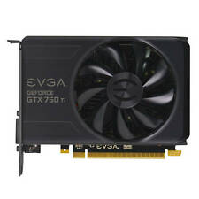 EVGA NVIDIA GeForce GTX 750 Ti 2GB GDDR5 DVI/HDMI/DisplayPort pci-e Video