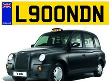 TAXI CAB LONDON UK ENGLAND TX3 CAB CABBY CITY LONDON BRITS PRIVATE NUMBER PLATE*