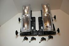 CHEVY CHEVROLET K1500 HEAD LIGHTS HEADLIGHTS 1990 1991 1992 1993 1994 1995 1996