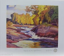 A.J. CASSON print group of seven Rapids on the Magnetewan LTD art numbered MINT