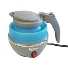 LOW WATTAGE 1ltr COLLAPSIBLE ELECTRIC TRAVEL KETTLE camping caravan Squash